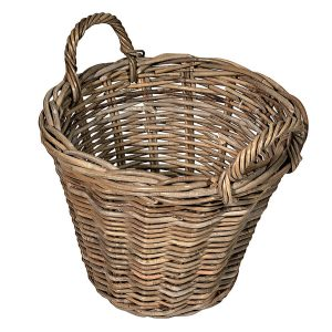 UK Stove Fans small round tapered log basket