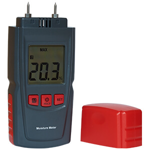 UK Stove Fans moisture meter for testing wood and logs