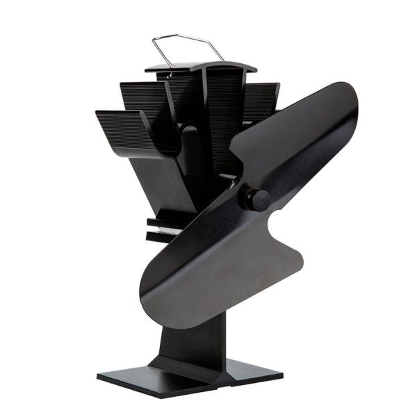 uk stove fans 112 2 blade stove fan heat powered