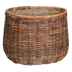 UK Stove Fans large round storage basket