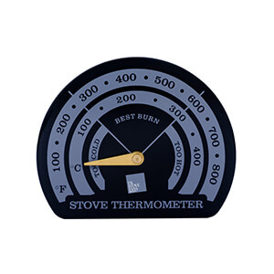 UK Stove Fans ST101 temperature gauge for wood burner