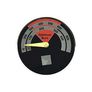 UK Stove Fans ST201 temperature gauge for wood burner