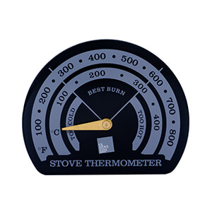 UK Stove Fans ST101 temperature gauge